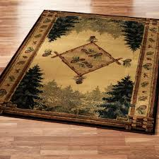 Floor Rugs by Rustic Lodge Area Rugs Touch Of Class