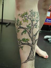 simple calf tattoos 32 nice tree tattoos on leg