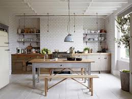 relooking de cuisine rustique idée relooking cuisine cuisine rustique moderne 20 modèles de