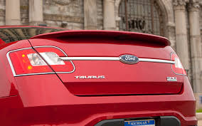 2014 ford taurus tail light 2010 ford taurus sho first test motor trend