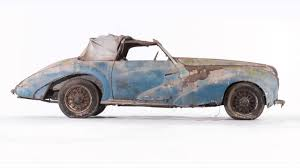 classic car barn find of the century french 1948 delahaye 135 m