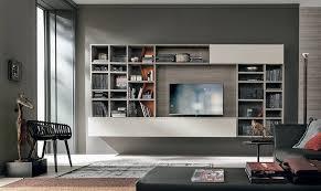 libreria tv tv in laminato con libreria
