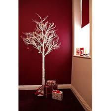 festive 1 20m 4ft black bare stem fibre optic twig tree with