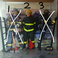 firefighter figurines swat team firefighter figurines toys others on carousell