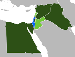 Map Of Israel And Middle East by Arab U2013israeli Conflict Wikipedia
