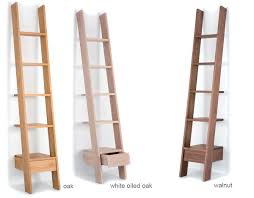 Narrow Leaning Bookcase by Ladder Bookcase 217 Hivemodern Com