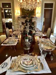 Kitchen Table Setting Ideas 712 Best Home For The Holidays Images On Pinterest Christmas