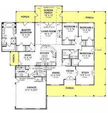 house plans with screened porches 655863 4 bedroom 2 5 country farmhouse with screened porch and