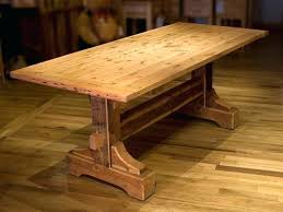 build your own table how to build a rustic dining table white parsons table modern