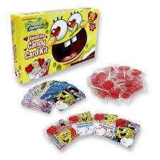 spongebob valentines day cards valentines day cards nickelodeon spongebob squarepants 28 cards
