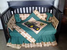 Green And Brown Crib Bedding by John Deere Crib Bedding Home Inspirations Design
