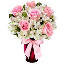 send flowers online singing sweetly pink bouquet at send flowers