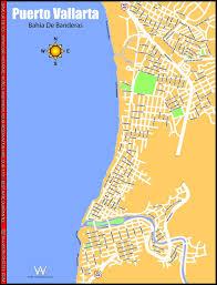 Map Of Puerto Vallarta Mexico by Puerto Vallarta Maplets