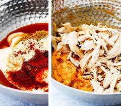 asian dish ring holder images Buffalo chicken dip ring with blue cheese dip carlsbad cravings jpg
