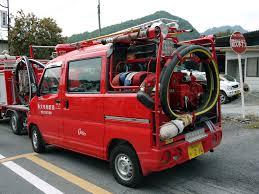 kei car fire truck in japan setcom new deliveries firetrucks