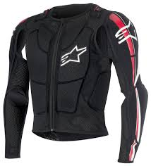 alpinestar motocross gear alpinestars bionic plus jacket revzilla
