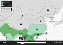 Map Of China And Hong Kong by The 6 Climate Zones Of China U2013 Climatelist