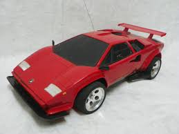 tyco rc grave digger monster truck vintage tyco red turbo lamborghini countach rc car 9 6v r c