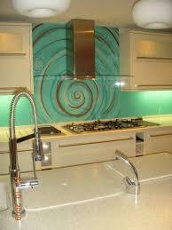 fantastic green backsplashes for modern kitchen design idea and