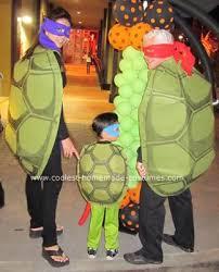 Nickelodeon Teenage Mutant Ninja Turtles Infant Halloween Costume Coolest Homemade Ninja Turtles Group Costume Family Theme Ninja