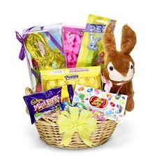 easter gift basket easter candy gift basket at send flowers