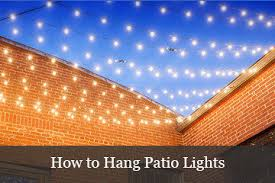 Hanging Patio Lights by Patio With Lights Home Design Inspiration Ideas And Pictures