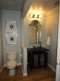 guest bathroom ideas decor guest bathroom update from builder basic to wow on a budget