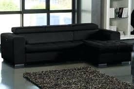 canap d angle noir tissu canape d angle noir simili cuir conforama canap 233 convertible t