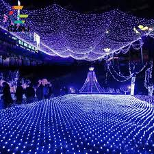 3x2m fish net led string lights outdoor wire wedding