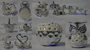 silver mille fleurie ornaments from leonardo collection brand new