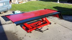 scissor lift table harbor freight harbor freight hydraulic lift table for sale in spokane washington