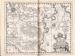 Narnia Map The 10 Best Maps From Fantasy Books For Readers Who Like To Track
