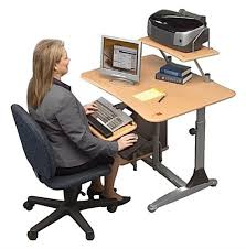 Adjustable Desk Shelf Adjustable Height Standing Desk Adapts For Sit Or Stand Use