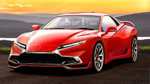 mitsubishi sports car mitsubishi 3000gt rendered as if it were alive today