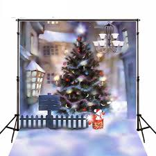 click to buy fence cottage tree lights booth