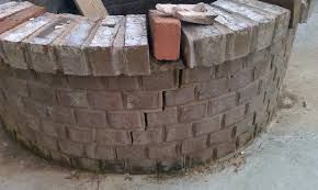 Round Brick Fire Pit Design - fire pit construction 101 outdoor landscaping ideas with in