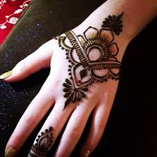 beautiful mehndi with simple designs tattoos