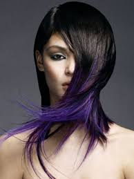black hairstyles purple two tone hair color ideas for 2017 hairstyles 2018 new haircuts
