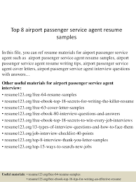 Collections of Customer Service Agent Resume   Free Letter Sample     Top   Airport Passenger Service Agent Resume Samples   Customer Service Agent Resume