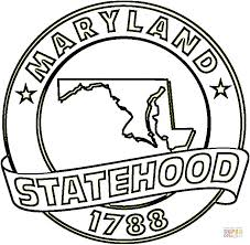 maryland coloring pages lawslore info