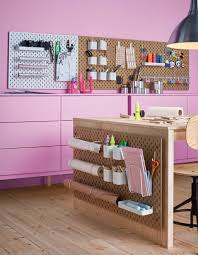 Wall Ideas For Office 20 Artist Creatives Live Work Space Storage Ideas From Ikea