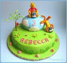 winnie the pooh cakes childrens birthday cakes winnie the pooh design trendy mods