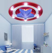 eclairage chambre enfant nouveau capitaine américain plafonnier le enfants chambre