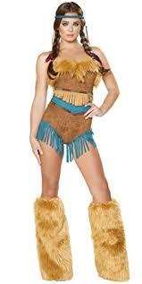 Halloween Costumes Pocahontas Amazon Pocahontas Halloween Costume Clothing