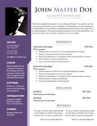 doc templates resume resume template doc jmckell