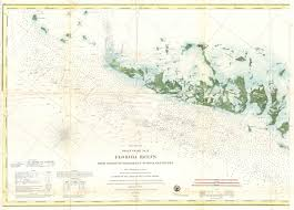 Map Of The Florida Keys File 1859 U S Coast Survey Map Or Nautical Chart Of The Florida