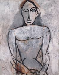 epph picasso u0027s woman with clasped hands 1907