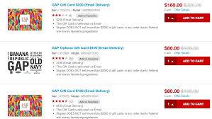 20 gap gift cards at staples danny the deal guru
