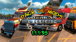 truck pack v1 5 american truck simulator mods ats mods american truck simulator pack de mods tuning 5 camiones youtube