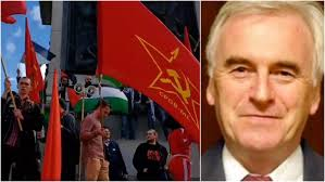 Joseph Stalin Flag Syrian Flag And Anti Israel Chants At John Mcdonnell May Day Rally
